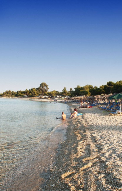 Discover the best beaches of Pefkohori from Apartment Chalkidiki